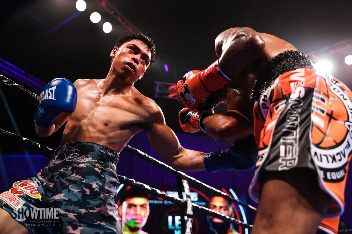 Angelo Leo Outclassed In First Title Defense of WBO Junior Featherweight Title #Boxing #LaCartita #WBO #LeoFulton