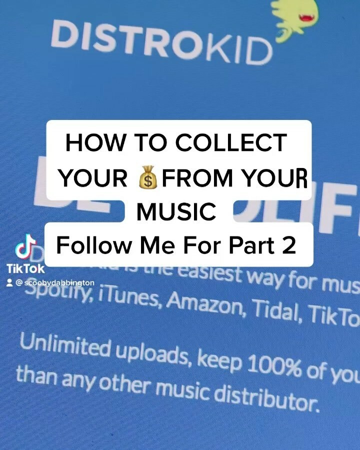 HOW TO Collect you 💵 for your music!A Lil information for who needs it!  #unsignedartist #unsignedrappers #unsignedsinger #musicproducer #songtrust #soundexchange #distrokid #ascap #bmi