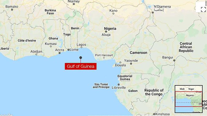 Pirates kidnap 15 sailors in attack on Turkish container ship off coast of Nigeria Photo
