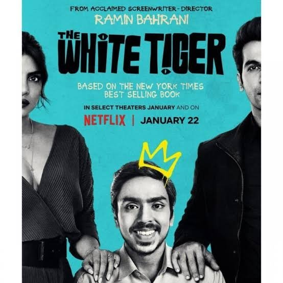 #Netflix Top Ten Shows And Movies In India This Monday  1. #TheWhiteTiger  2. #FateTheWinxSaga 3. #Tribhanga  4. #OutsideTheWire  5. #Bridgerton  6. #Sir 7. #Lupin  8. #Friends  9. #BlingEmpire  10. #JurassicPark #CampCretaceous   @NetflixIndia @netflix
