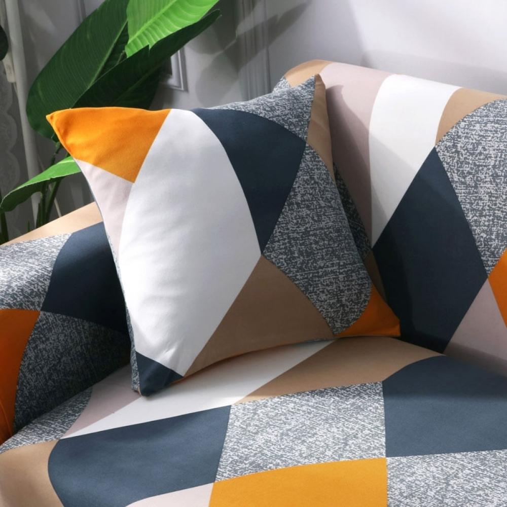 Abstract Printed Pillow Case Set 4 pcs #homeinterior #homecoming