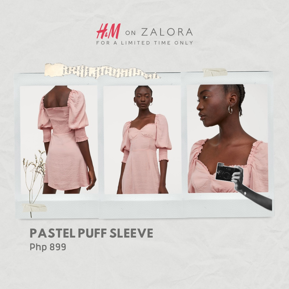 Dress up a la Bridgerton with the puff sleeve styles that you can get on @ZALORA! #HMonZalora #repost   Shop here: