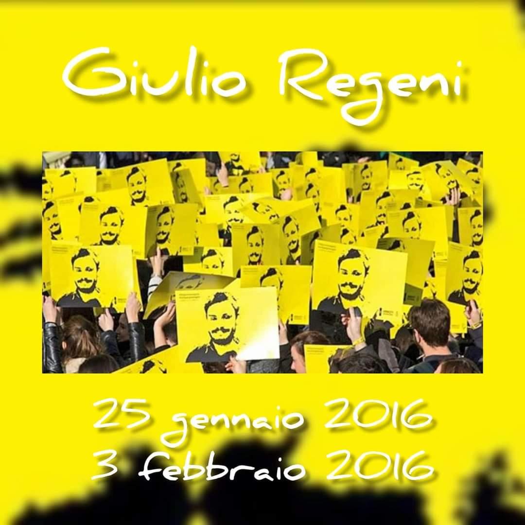 #GiulioRegeni