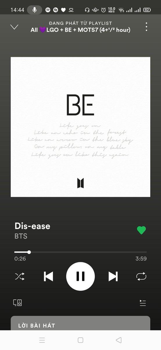 @01Btsxarmy Im fine 😩😩 im fine.... Stream BE 😁👋  @BTS_twt  #BTS