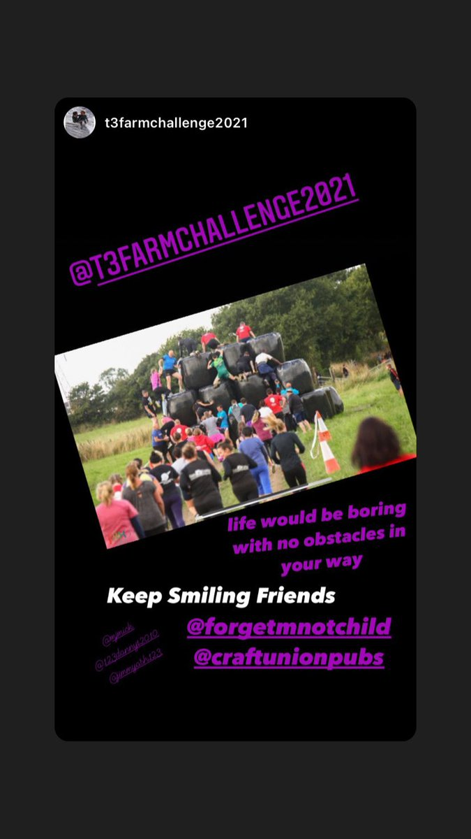 #obstacles #charityfundraiser #hospice #childrenshospice #exercise #sport #teamwork #teambonding #teambuilding #exercise #walking #running #fun #familytime #friends #community #charity @craftunionpub @ForgetMNotChild