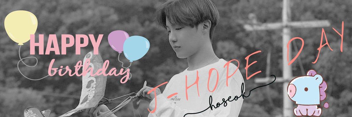 𓊆 Hoseokセンイル 𓊇  ヘッダー作りました⸜🌷︎⸝ よかったらご自由にどうぞ♥ RT  or  いいね   よろこびます  #JHOPE #JeongHoseok #HoseokWeLoveYou #BTS #BTS加工