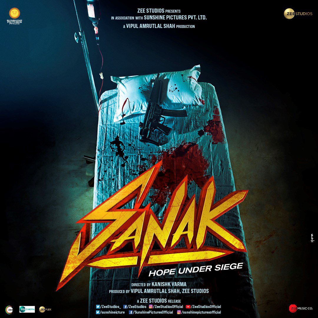This is awesome @VidyutJammwal bradda! Looking forward to watching you & @RukminiMaitra rock the screen in the action packed #Sanak!  #SidK #VipulAmrutlalShah @IamRoySanyal @kanishk_v @sunshinepicture @Aashin_A_Shah @ZeeStudios_ @ZEE5India @zeecinema
