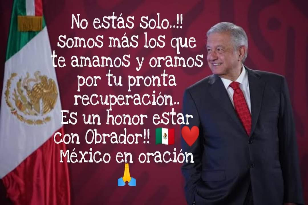 #FuerzaPresidente