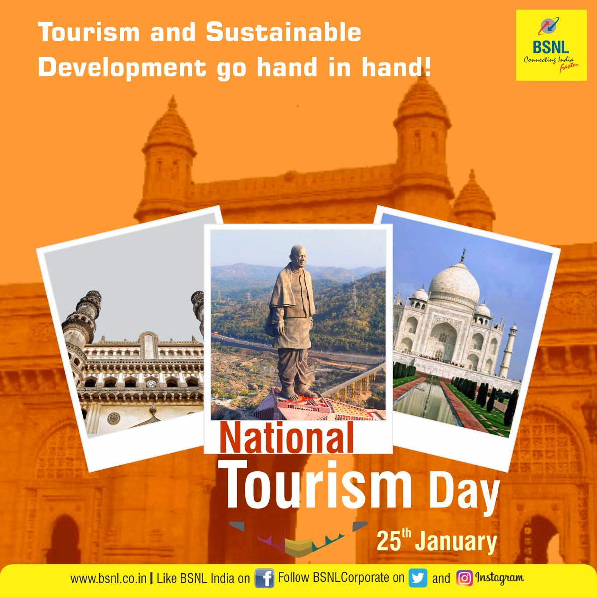 This year, travel and soak in the rich culture of India, but with precautions. @tourismgoi #NationalTourismDay #NationalTourismDay2021 #Unite2FightCorona