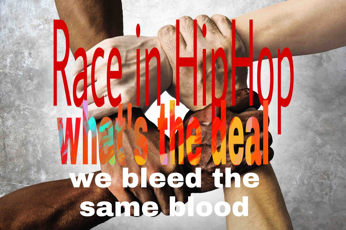 We all bleed the the same blood  Racism in #hiphop what's really the deal #Rap #music #Musica  Has it been on anyone's mind recently #hiphop #fans  #racism, do we really wanna repeat history seriously think think about it #YouTubers #YouTubeRap  #Subscribe