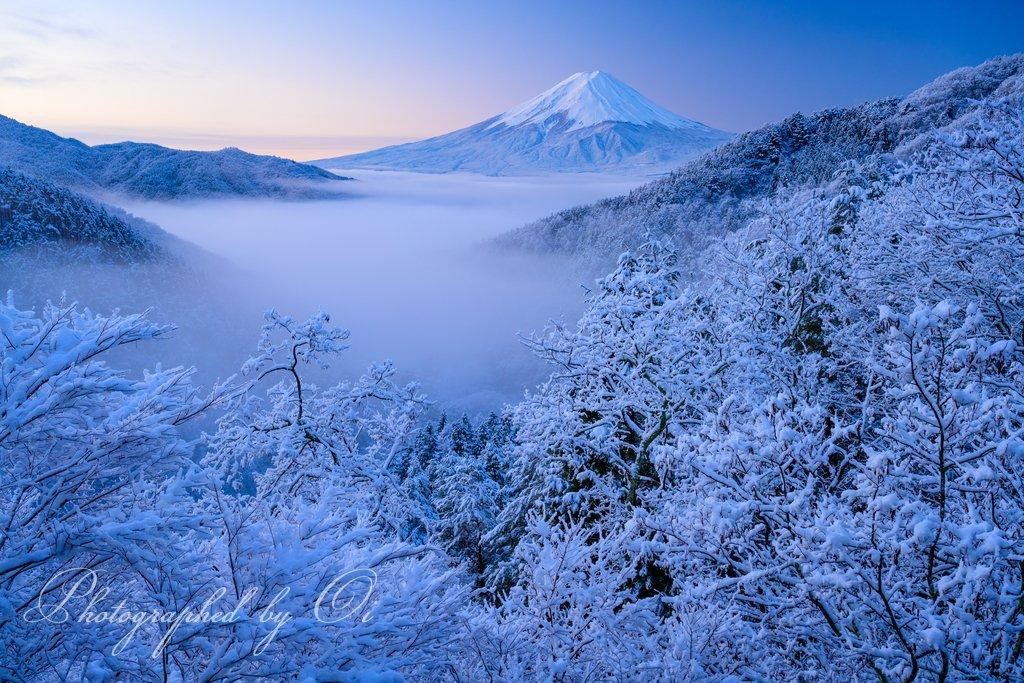 本日の富士山はコチラ❣  素晴らしき雪の世界。  #富士山 #ケサフジ #雪景色