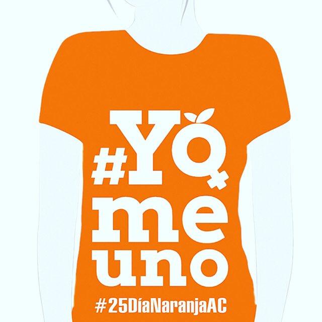 Mañana 25 es #dianaranja basta ya de tanta violencia en contra de las mujeres y las niñas ! #dianaranjaac #unete #orangetheworld