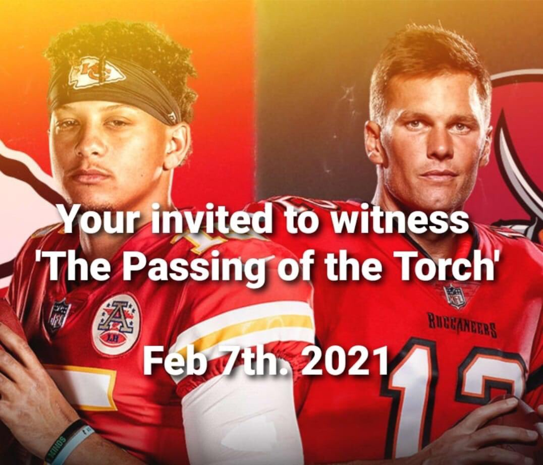 Woohoo Chiefs are going back to the Super Bowl ❤️💛 #AFCChampionship #SuperBowlLV #Mahomes #Brady