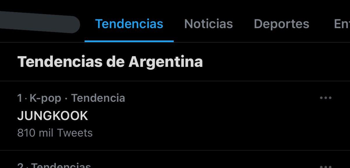 JUNGKOOK 1 en Argentina, como debe ser   @BTS_twt #BTS #방탄소년단