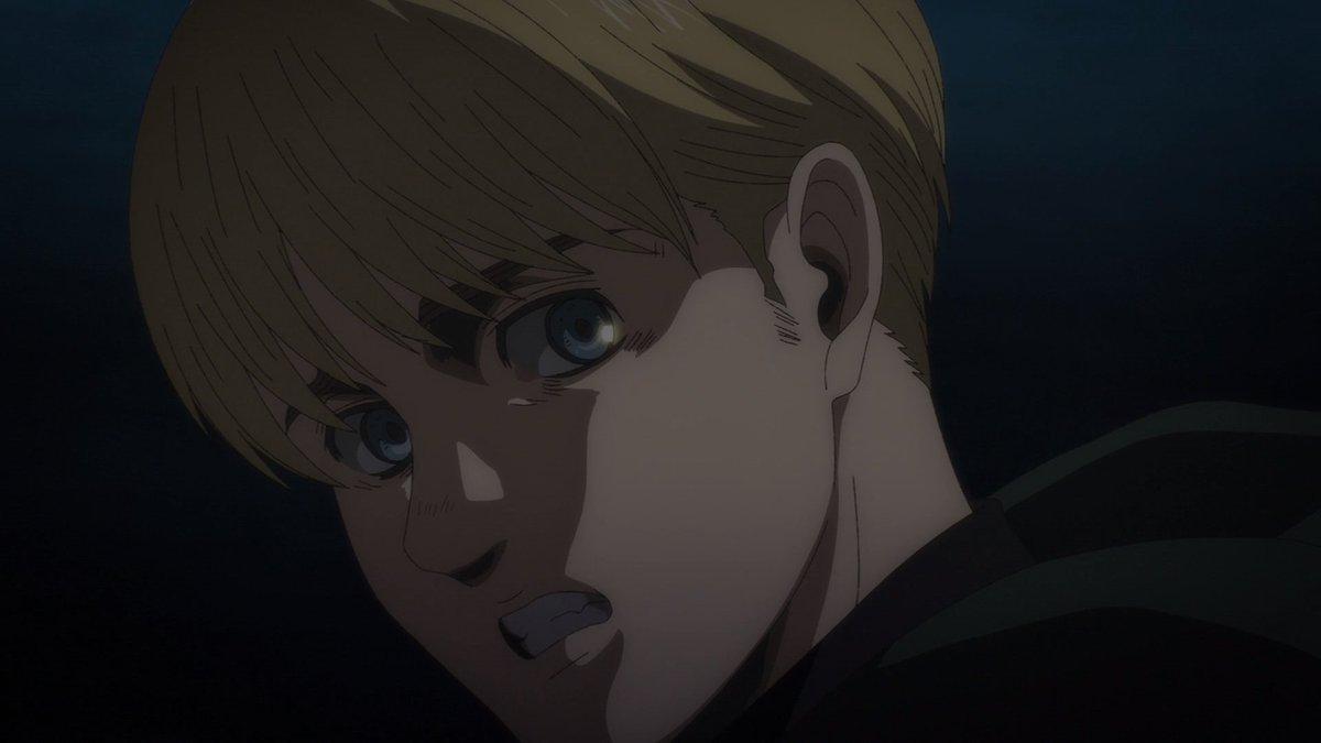 Replying to @AoTWiki: Armin