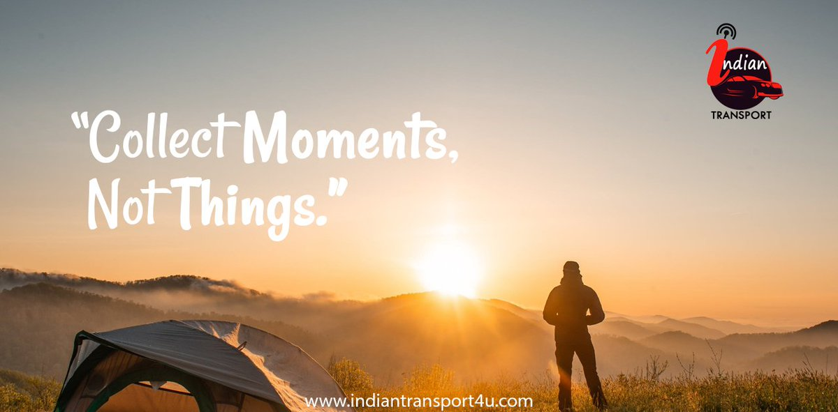 """Collect Moments, Not Things.""  Call us: +91 9451701918, 9455191540  #mondaymotivation #happymonday  #travelmode #madeinindia #cabbooking #indiantransport4u #tourism #tour #traveling #carbooking #monday #indiantransport #travelcompany #transportinraebareli  #lucknow #raebareli"