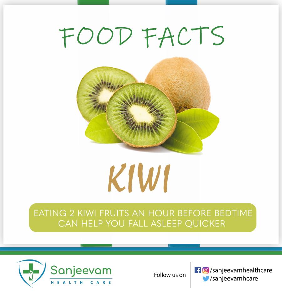 Advantage of  Kiwi for quick sleep For more Health Tips  Do follow : @SanjeevamHCare   #sanjeevamhealth #healthylifestyle #checkhealthproblems #proactive #healthsolution #healthcare #healthyeating #Healthyliving #healthyfood #beautytips #foodtips #healthy #goodasleep #fallasleep