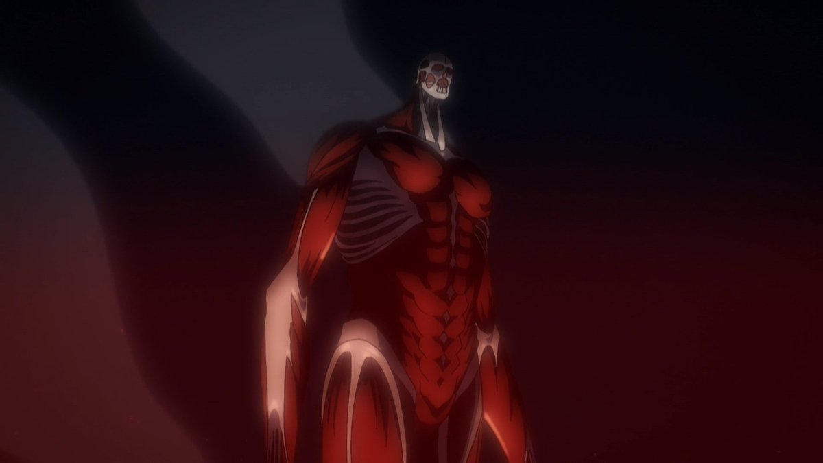 Replying to @AoTWiki: Colossal Titan
