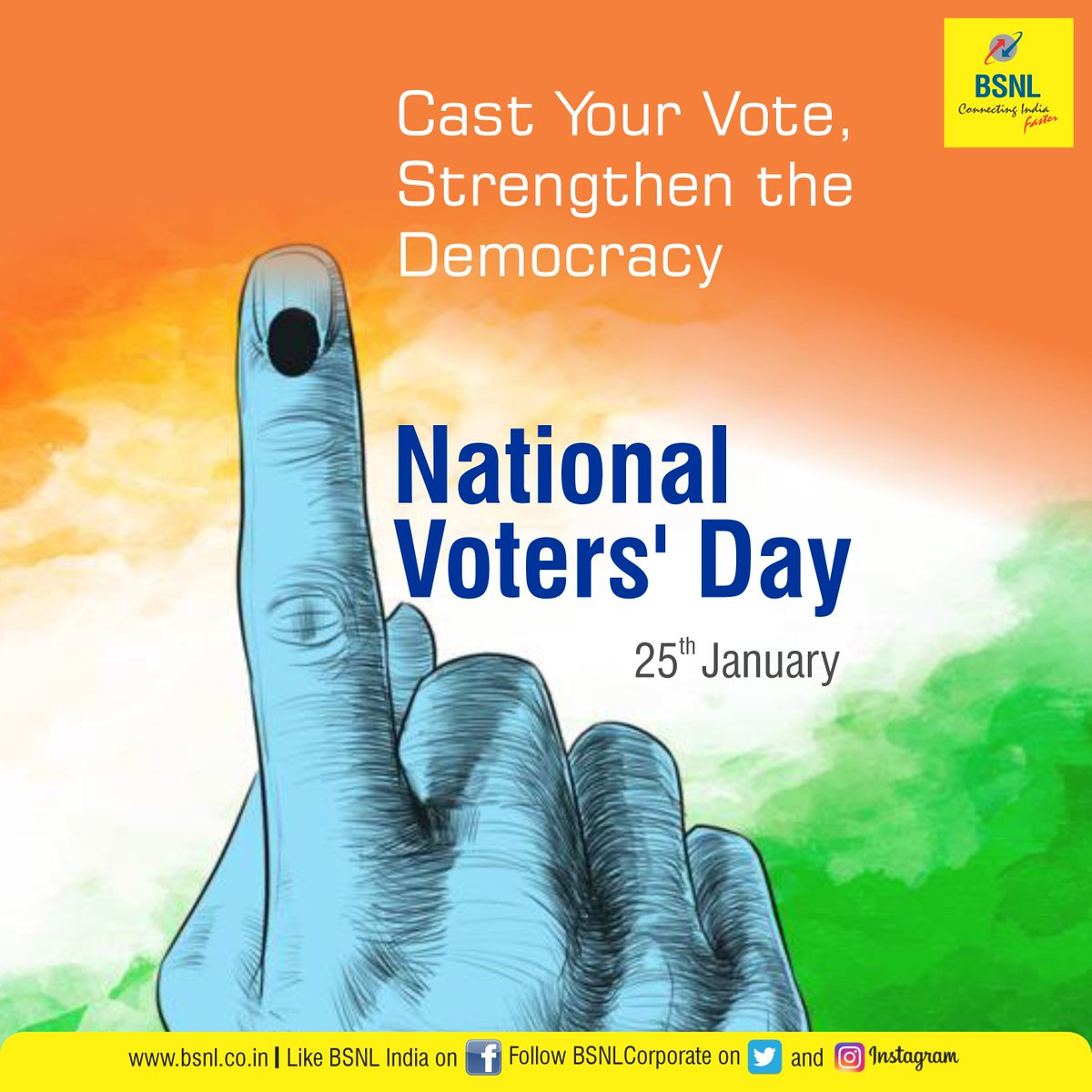Vote for Your Nation, Vote for Your Future.  @ECISVEEP #NationalVotersDay #NationalVotersDay2021 #Unite2FightCorona