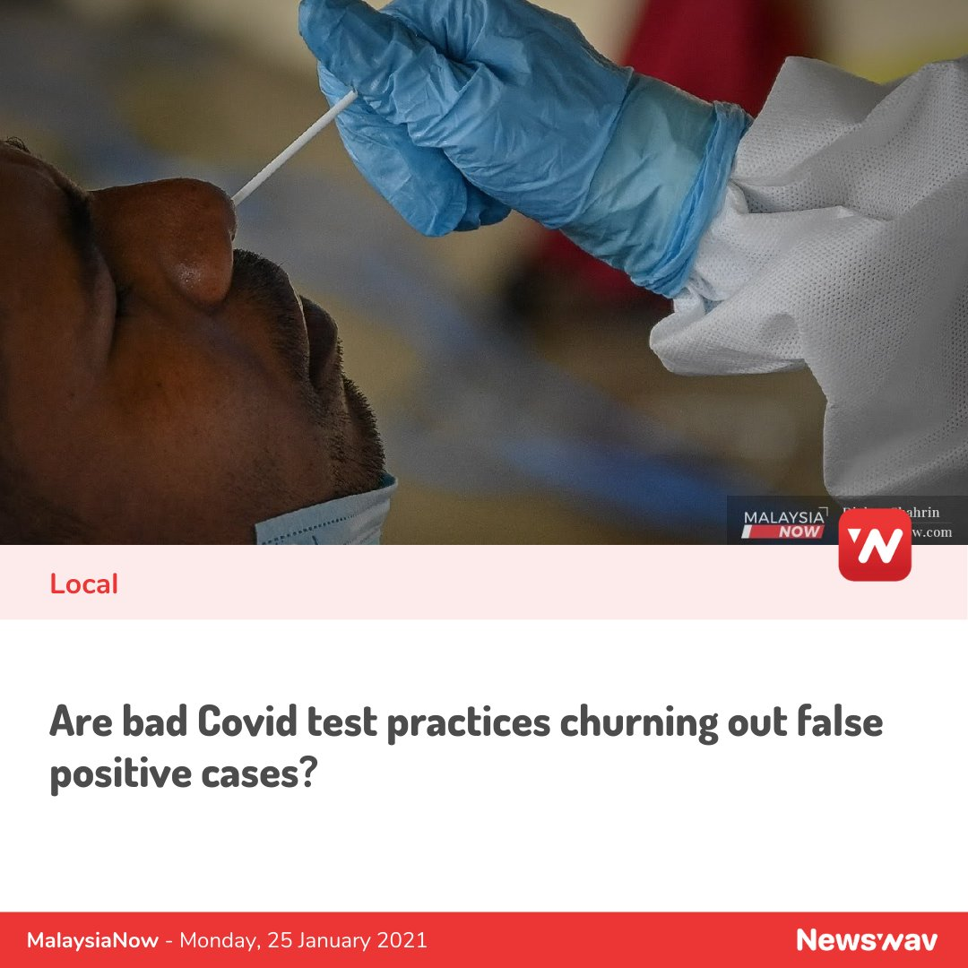 RT-PCR is the gold standard for Covid-19 testing, but there have been some concerns which could be giving rise to false positive results. LINK: https://t.co/4KrrjQBFBN   ____ #news #malaysia #malaysianews #berita #beritakini #newswav #kualalumpur #trendingnow https://t.co/39LrvzyulJ