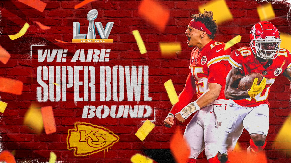 Replying to @Chiefs: SEE YOU IN TWO WEEKS!