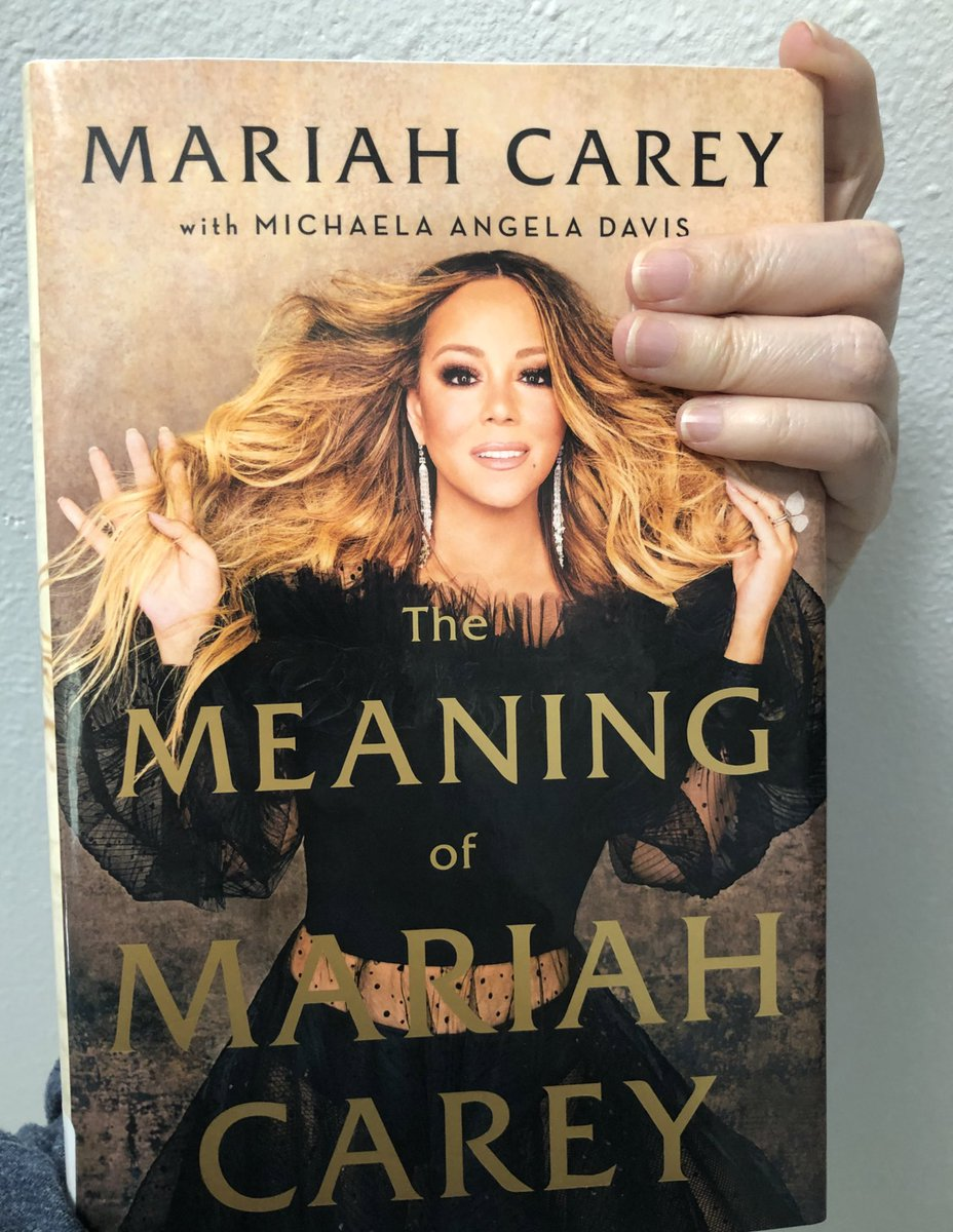 Finished @MariahCarey memoir. Damn, the woman dived deep into her roots.   I grew up listening to her earlier albums. Never had imagined her dysfunctional upbringing, her struggles, before her luxurious life, would resonate to mine. I understand her.  #TheMeaningOfMariahCarey