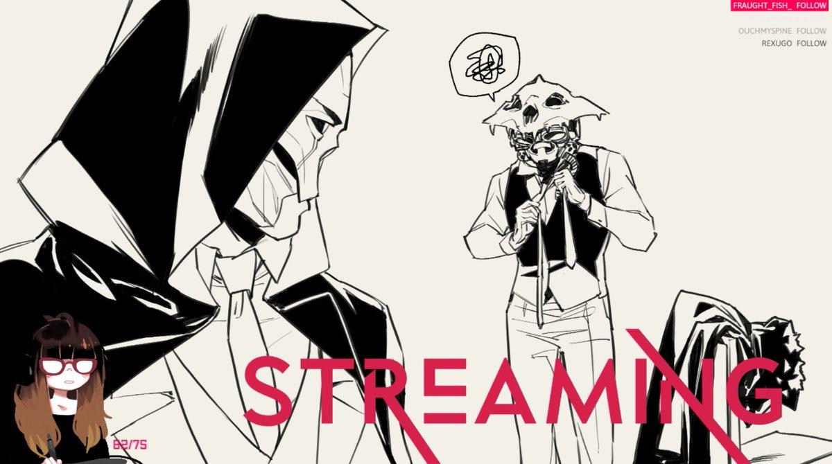 Late night stream!! ✨ twitch.tv/fayrenheit