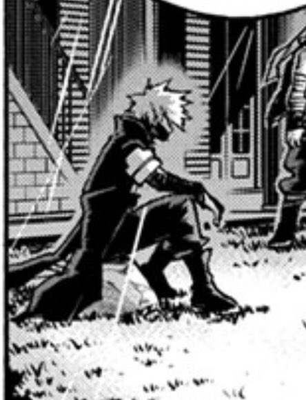 #bnha298spoilers   Oh ok so dabi is not stuck in compress's marble lmaosjsjjd
