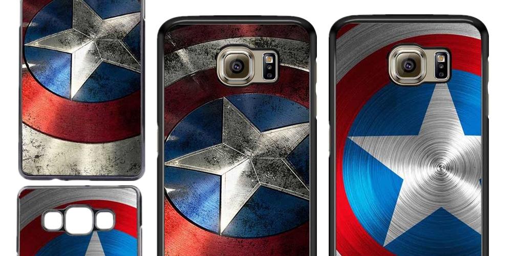 #spiderman #ironman #captainamerica #dc  Captain America Cover For Samsung Galaxy