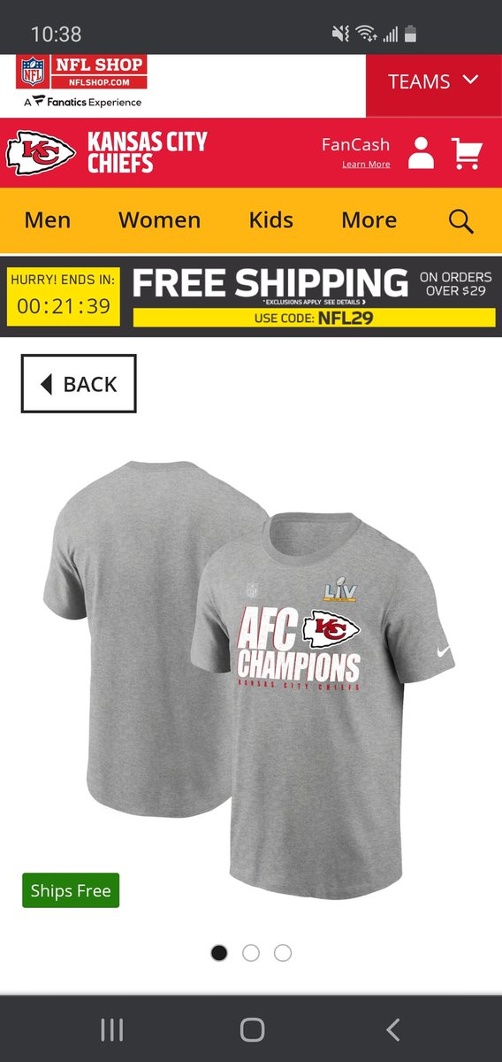 The #Nfl needs to get some new graphic designers. These shirts are weak! 👎🙄 #AFCChampionship #ChiefsKingdom #RunItBack