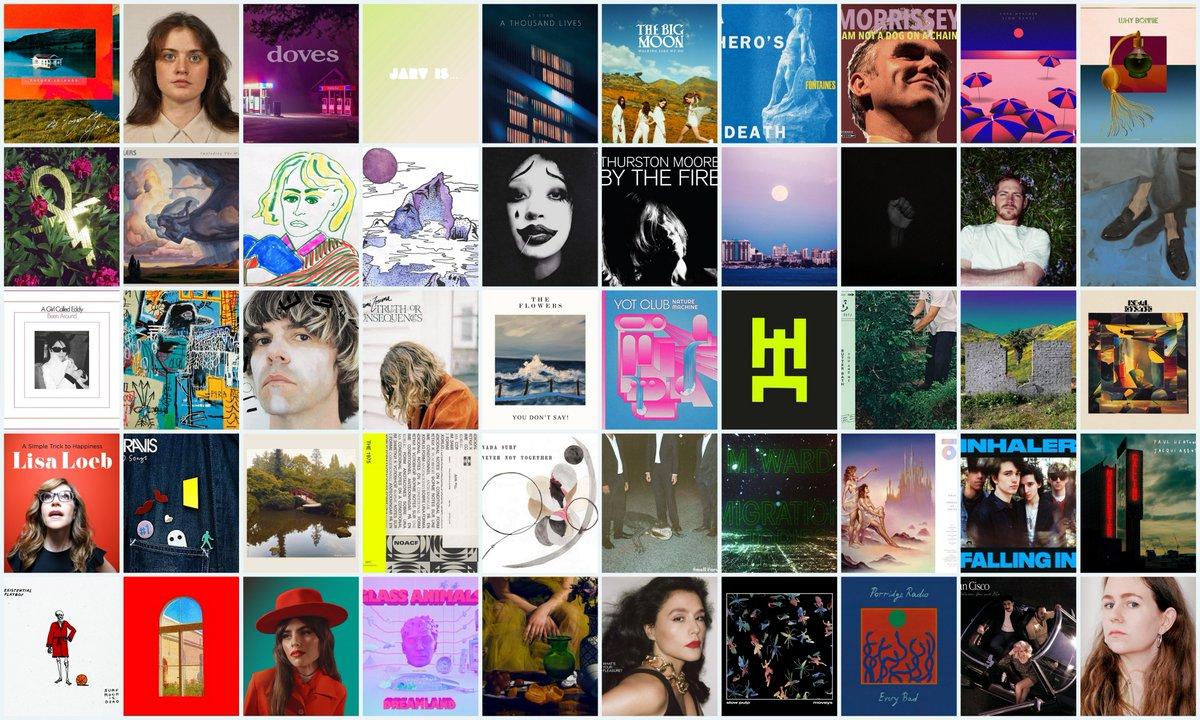 Best 50 Albums of 2020:  #bestof2020 #albums