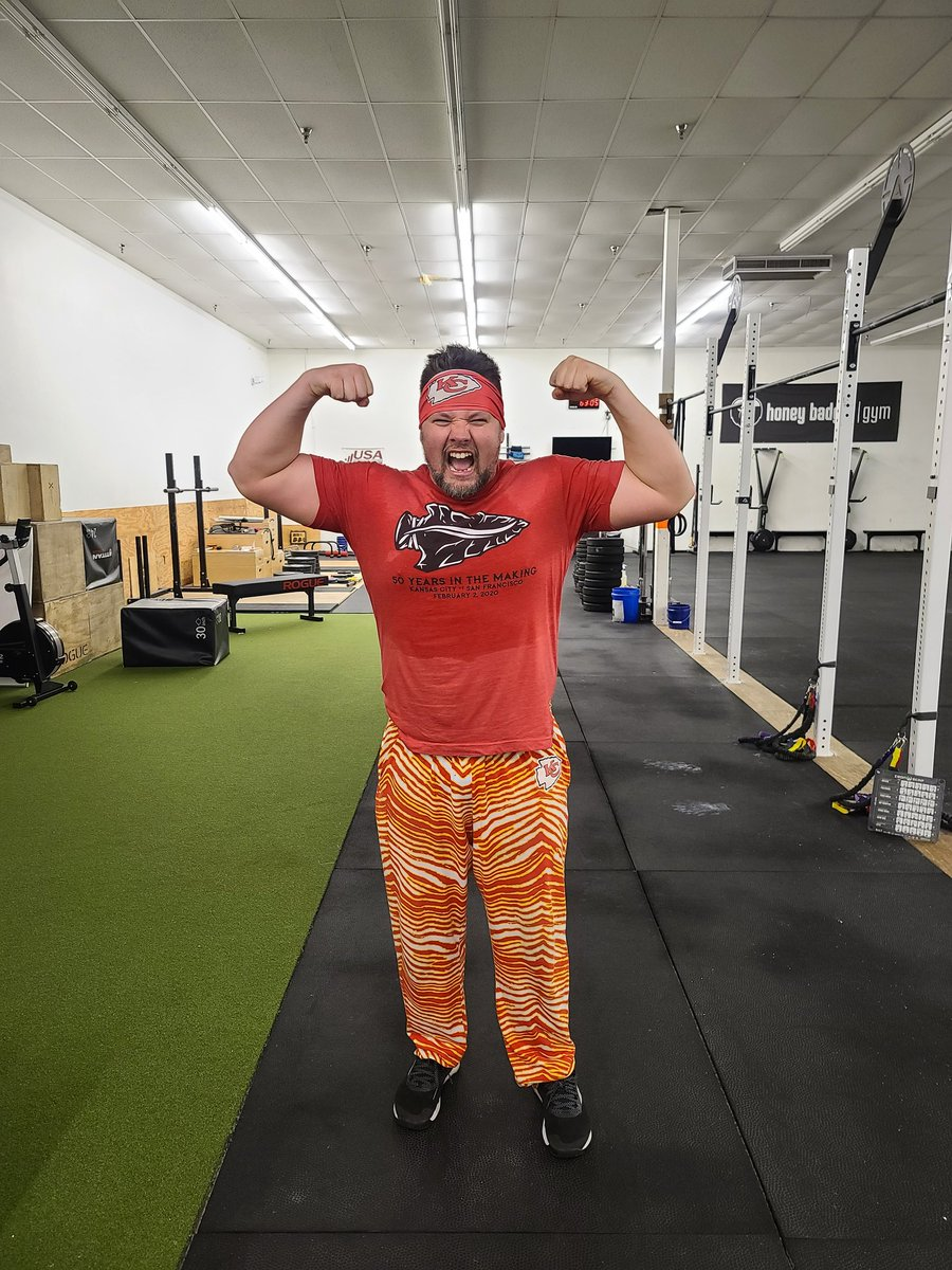 Celebration of @chiefs #afcchampionship #Chiefs #runitback #believe #chiefskingdom #swole