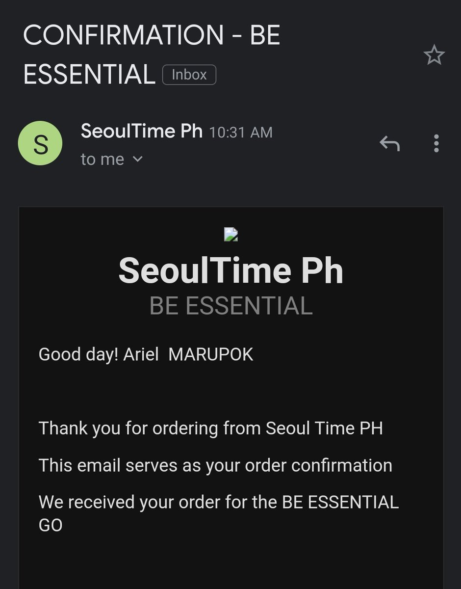 Another day, another budol. @SeoulTimePh. Automatic akong nag fill up. 🤦♀️😂💜