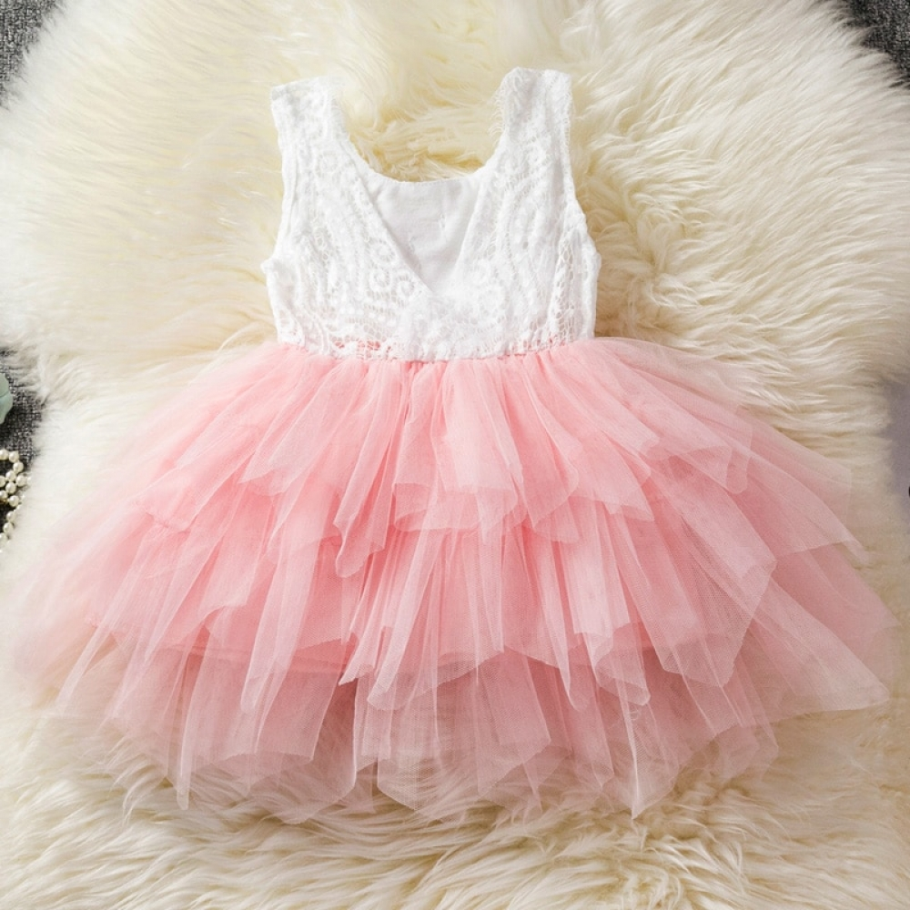 Party Dress for Baby Girls #newborns #pink