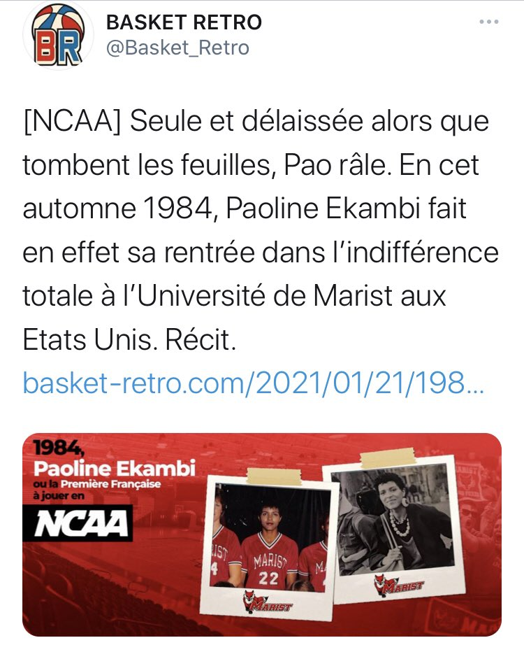 @FDJsport @SarahOurahmoune Biographies des anciennes sportives de haut niveau @SarahOurahmoune ! Merci à vous @FDJsport #SportFemininToujours @RoxaMaracineanu #PlusDeSportAuFeminin #NBA #NBATwitter @jpsiutat @ffbasketball @PaolineEKAMBI