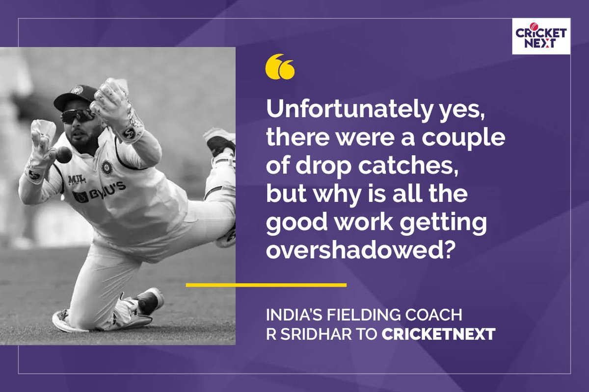 India's fielding coach R Sridhar talks in detail to @cricketnext  about the tour of Australia, explaining the multiple dropped catches, Pant's wicketkeeping, Shastri's inputs as coach and a lot more   #INDvAUS #AUSvIND  READ FULL INTERVIEW HERE:
