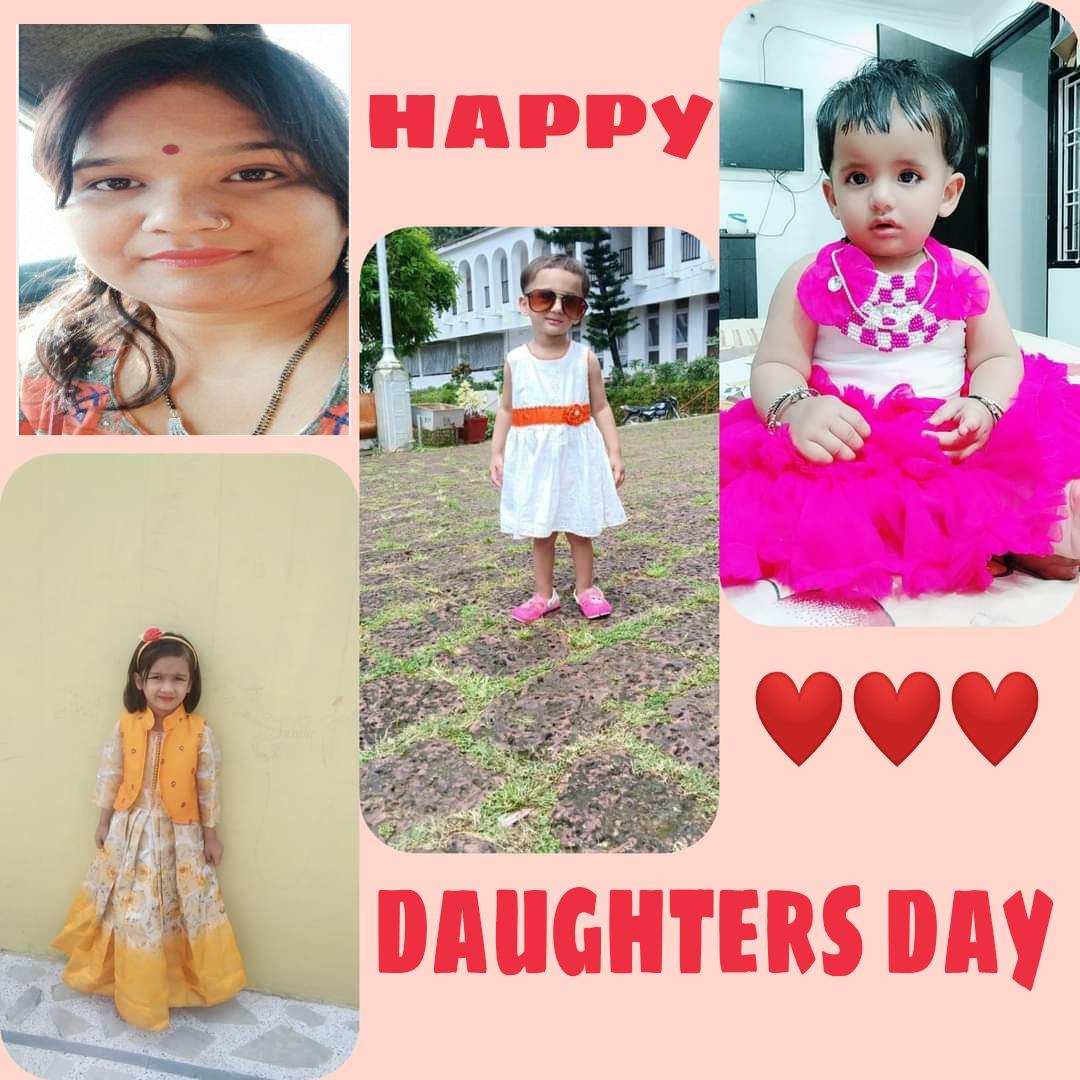 #happydaughtersday