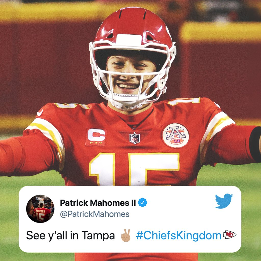 The Chiefs are ready for Super Bowl LV 😤 https://t.co/TgeWLuuBrF