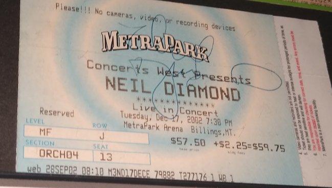 Happy 80th Birthday, Neil Diamond. Thanks for this.