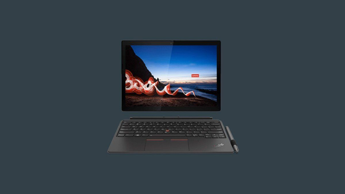 The @Lenovo ThinkPad X12 Detachable #laptop  This 12.3-inch professional laptop has a screen that detaches, letting you use it as both a laptop and a tablet. #gadgets
