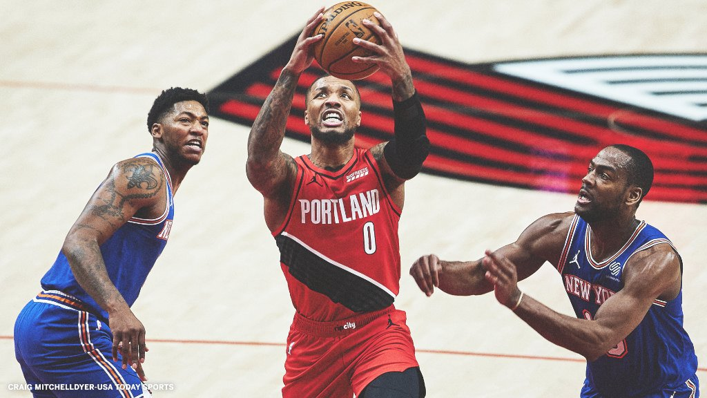 Dame answered the call for the shorthanded Trail Blazers.  🔥 39 Pts 🔥 8 AST 🔥 11-17 FG  🔥 6-10 3Pt FG https://t.co/2Rs8bNT6jb
