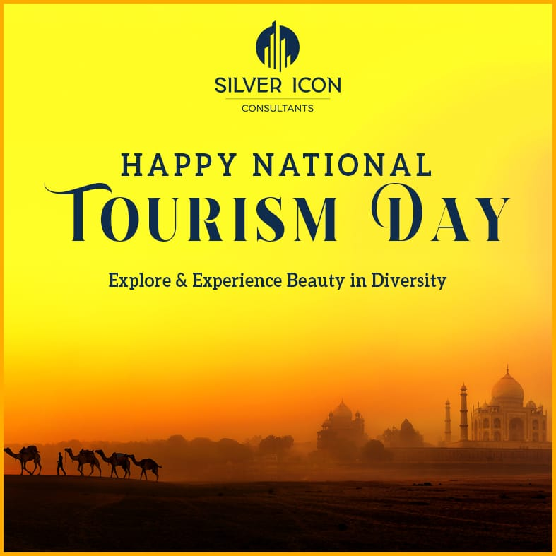 Explore the rich culture and exceptional beauty of incredible India. Happy National Tourism Day!  #SilverIconConsultants #RealEstate  #RealEstateAgents #HappyNationalTourismDay #NationalTourismDay2021 #NationalTourismDay #Tourism #Travel#Gurgaon #India