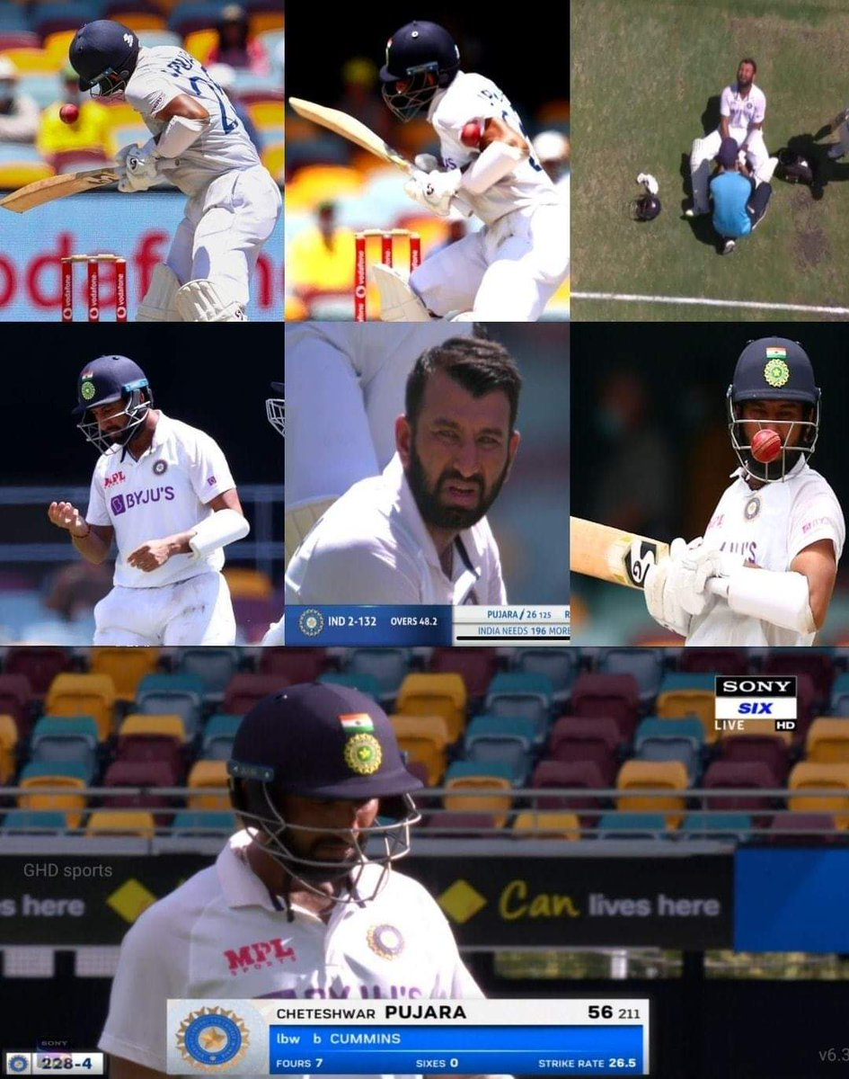 This dedication will be remembered for ages. #HappyBirthdayPujara