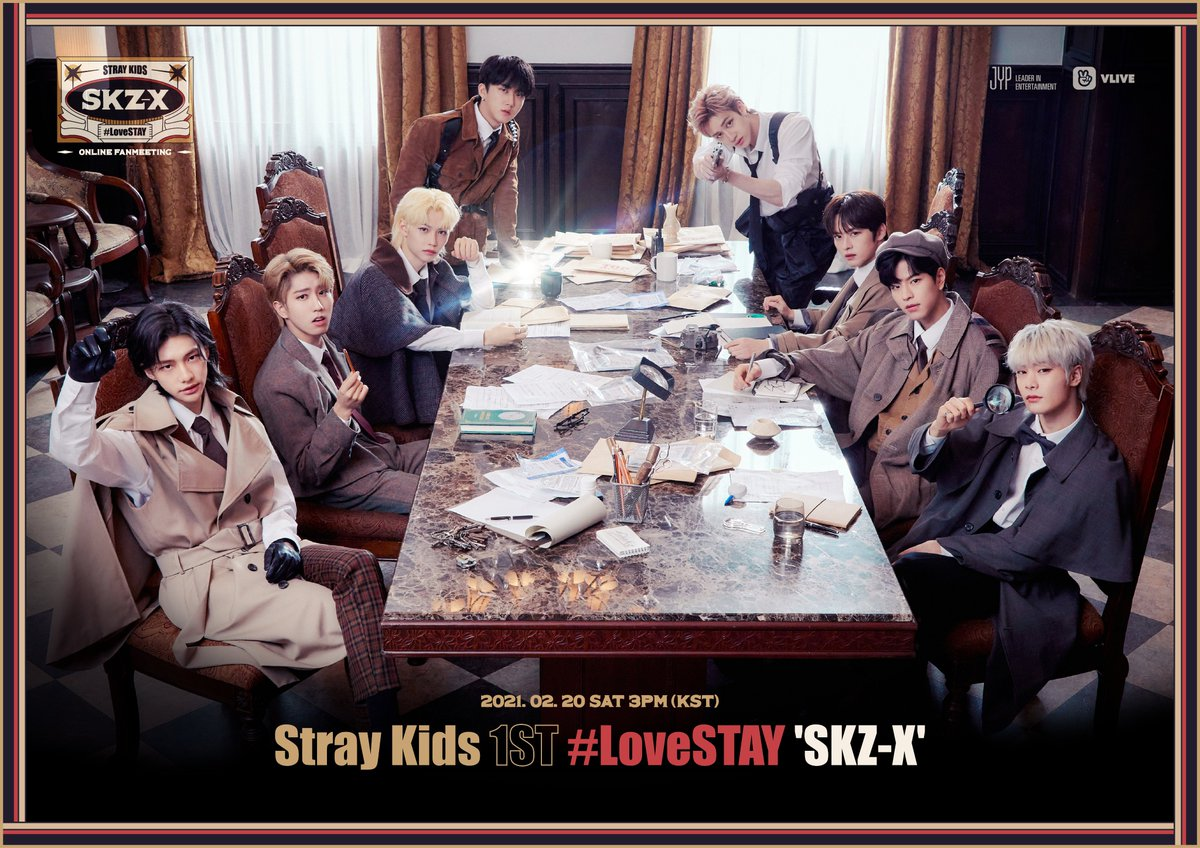 Stray Kids 1ST #LoveSTAY 'SKZ-X'  2021.02.20 SAT 3PM (KST)   DETAIL INFO COMING SOON!  #StrayKids #스트레이키즈 #1STLoveSTAY #SKZ_X #YouMakeStrayKidsStay