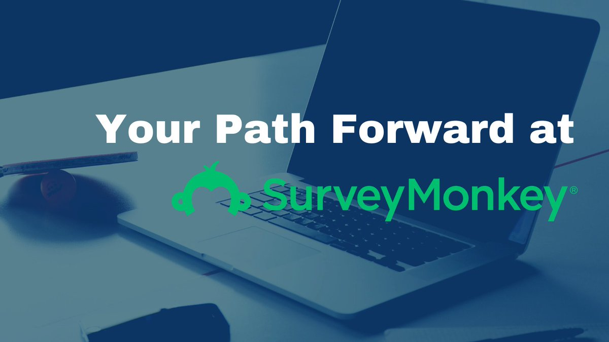 SurveyMonkey is proud to announce our partnership with @PathFWD. Path Forward is a nonprofit organization on a mission to empower people to restart their careers after time spent focused on caregiving. Ready to get back to work? Apply now!