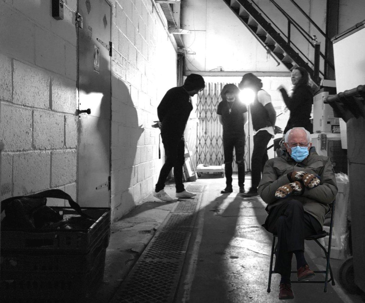 Behind the scenes of the Awake video shoot!!  #Video #BehindtheScenes #BernieMeme #mondaythoughts
