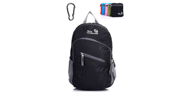 #Amazon for travellers: Outlander Lightweight Packable Water Resistant Backpack      #amazondeals #deals #gadgets #travel #giftguide #gift #giftidea #baggage #luggage #flight #holiday #vacation #bag #backpack #city