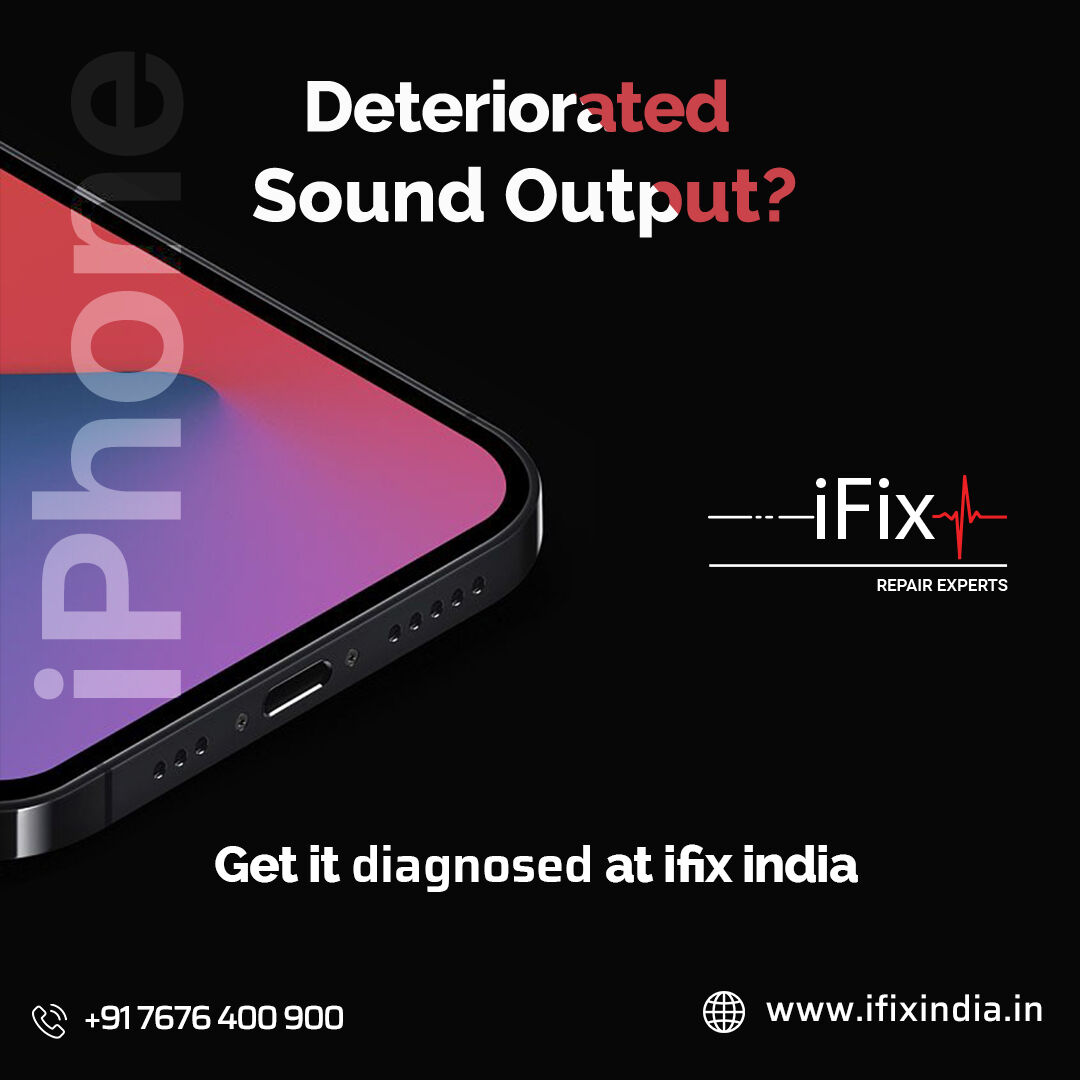 Is your speaker struggling to give out the original sound output?  No need to worry. We at iFix have got you covered   Book a diagnosis for your device today   #techy #gadgets #gadget #audio #ifix #originalsound #bangalore