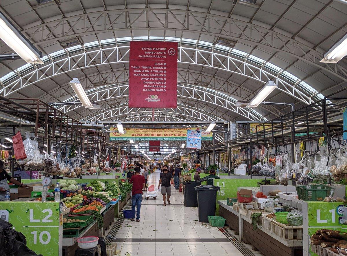Hiburan warga Bale Tirtawana di akhir pekan: mampir ke Pasar Modern Intermoda #bsdcity #librarianlife #tbt