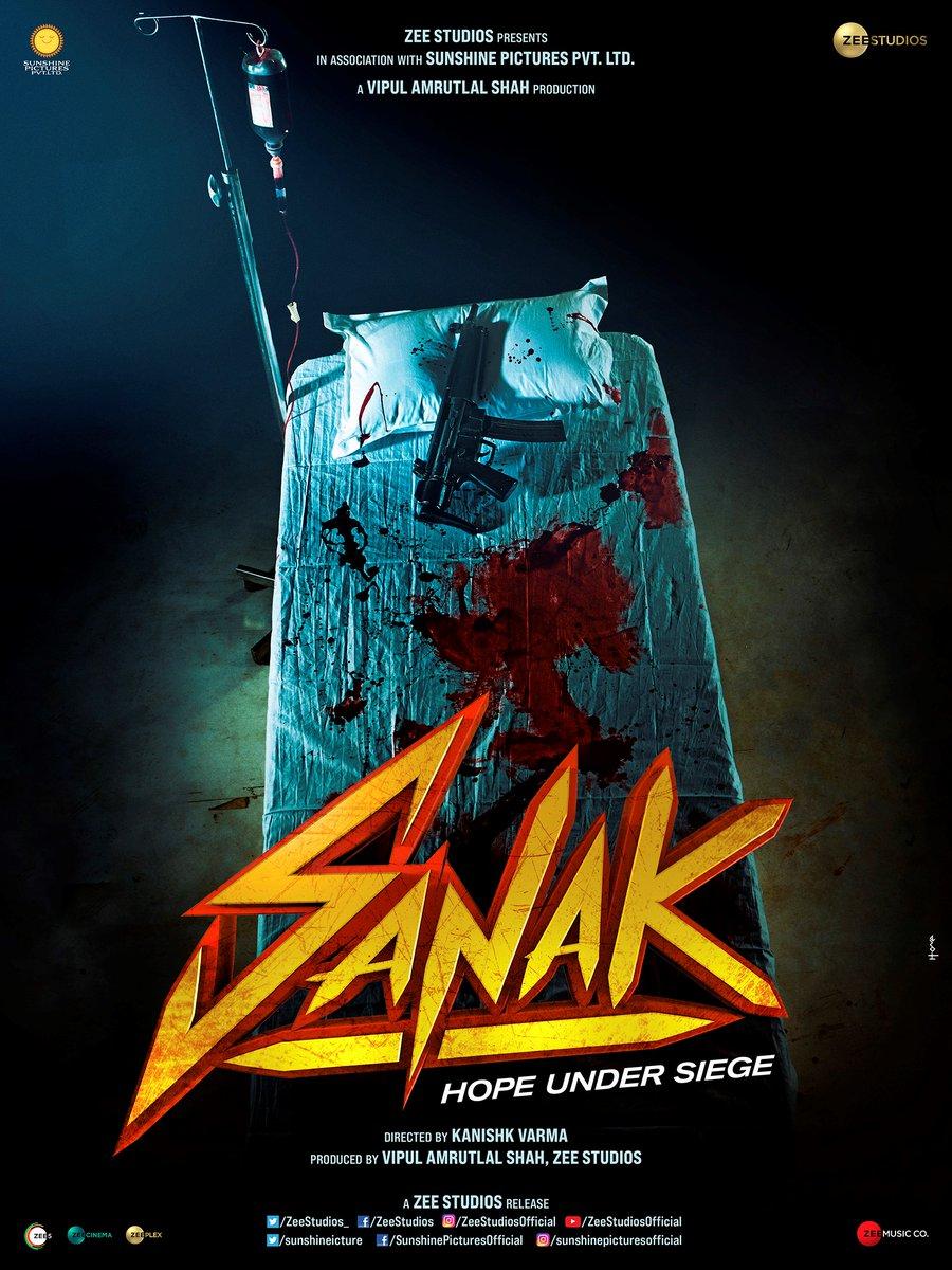 Brace yourself, something big is coming tomorrow! 👊 Ab Sankegi!  #ComingSoon🎬 #Sanak Stay tuned!  #VipulAmrutlalShah @RukminiMaitra @IamRoySanyal @kanishk_v @sunshinepicture  @Aashin_A_Shah @ZeeStudios_ @ZEE5India @zeecinema @ZeeplexOfficial @ZeeMusicCompany